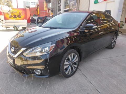 Nissan Sentra Exclusive Aut NAVI usado (2017) color Negro precio $215,000