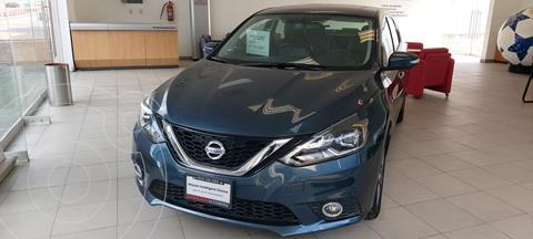 Nissan Sentra Exclusive Aut usado (2019) color Turquesa precio $330,000