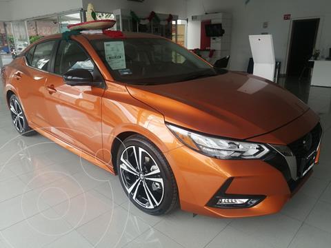 Nissan Sentra SR   usado (2021) color Naranja precio $430,000