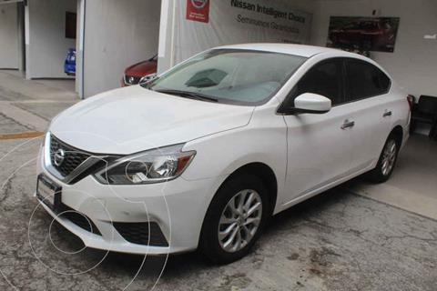 Nissan Sentra Sense usado (2018) color Blanco precio $229,000