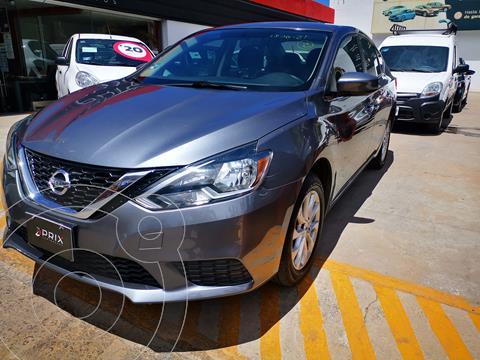 Nissan Sentra Sense usado (2018) color Gris precio $214,000