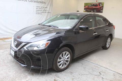 Nissan Sentra Sense Aut usado (2017) color Negro precio $199,000