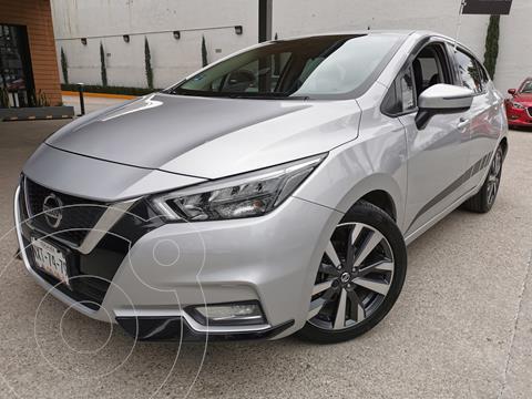 Nissan Sentra Exclusive Aut usado (2020) color Plata precio $305,000
