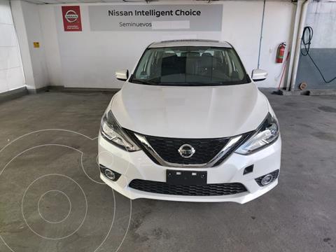 Nissan Sentra Exclusive Aut usado (2019) color Blanco precio $345,000