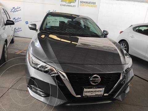 Nissan Sentra Advance  usado (2021) color Plata Dorado precio $369,000