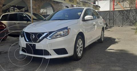 Nissan Sentra Sense usado (2019) color Blanco precio $193,900