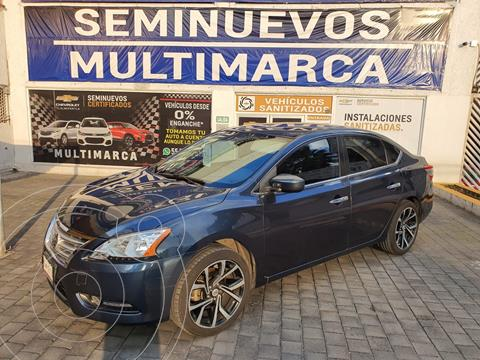 Nissan Sentra Sense Aut usado (2016) color Azul precio $195,000