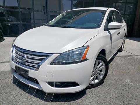 Nissan Sentra Advance usado (2015) color Blanco precio $170,000
