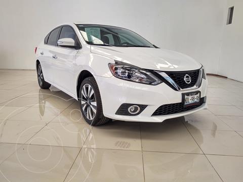 Nissan Sentra Exclusive Aut  usado (2018) color Blanco financiado en mensualidades(enganche $63,901 mensualidades desde $7,970)
