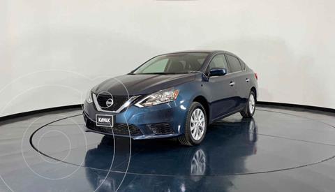 Nissan Sentra Sense usado (2017) color Azul precio $202,999