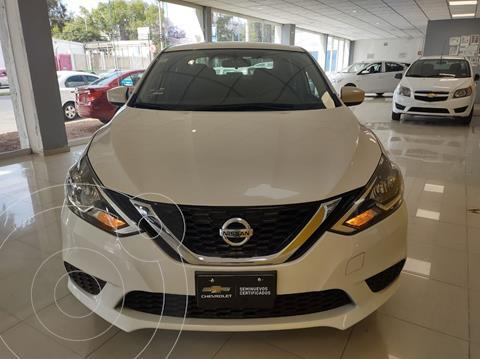 Nissan Sentra Sense usado (2018) color Blanco precio $226,900