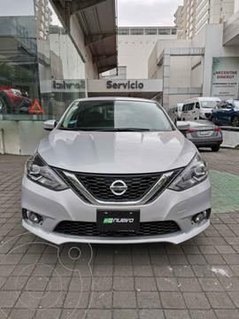Nissan Sentra Exclusive Aut NAVI usado (2018) color Plata precio $265,000