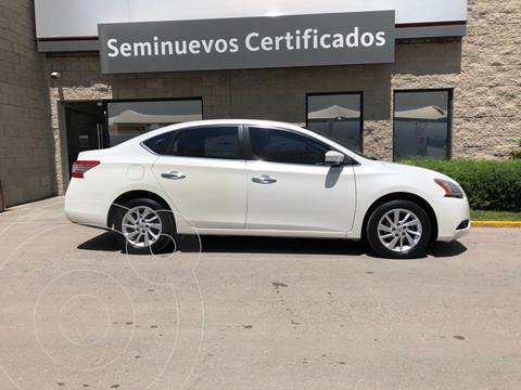 Nissan Sentra Advance usado (2015) color Blanco precio $164,000