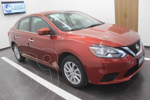 Nissan Sentra Sense usado (2018) color Rojo precio $229,000