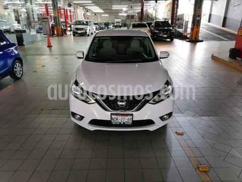 Nissan Sentra 4P ADVANCE AT A/AC. F. NIEBLA RA-16 usado (2017) color Blanco precio $190,000