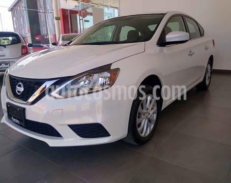 Nissan Sentra Sense Aut usado (2018) color Blanco precio $225,000