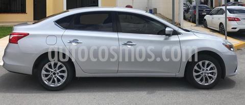 Nissan Sentra Advance usado (2017) color Plata precio $160,000