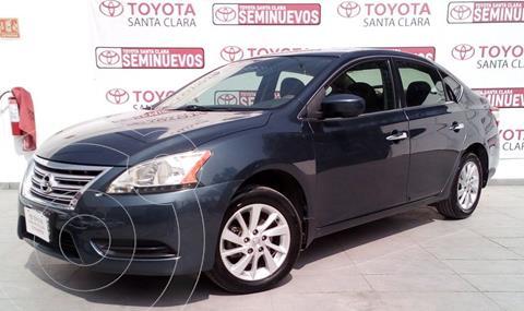 Nissan Sentra Sense usado (2016) color Azul precio $180,000