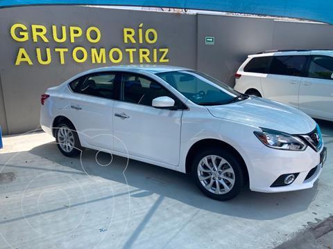 Nissan Sentra Sense usado (2018) color Blanco precio $199,800