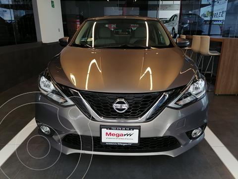 Nissan Sentra Advance Aut usado (2017) color Acero financiado en mensualidades(enganche $94,105 mensualidades desde $3,725)
