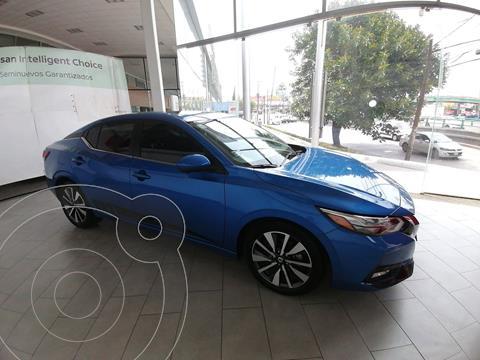 Nissan Sentra 4 PTS EXCLUSIVE, CVT, A/AC AUT, PIEL, QC, F LED,  usado (2020) color Negro precio $400,000