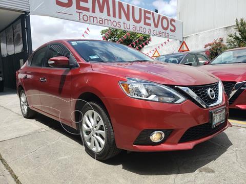 Nissan Sentra Advance Aut usado (2017) color Rojo precio $219,800