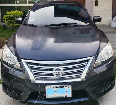 Nissan Sentra Sense Aut usado (2014) color Hierro Encendido precio $122,000