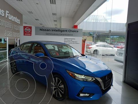 Nissan Sentra Exclusive Aut usado (2020) color Azul precio $440,000