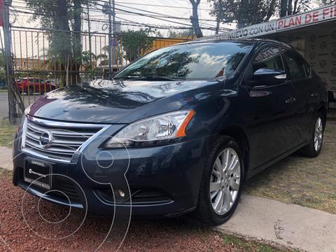 Nissan Sentra Exclusive Aut usado (2015) color Azul Oriental precio $195,000