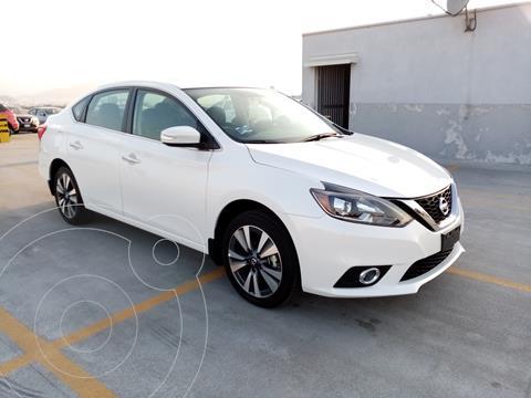 Nissan Sentra Exclusive Aut usado (2019) color Blanco precio $370,000