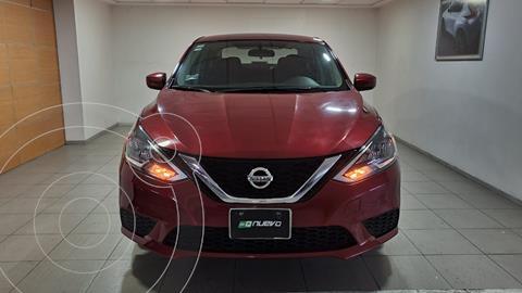 Nissan Sentra Sense usado (2018) color Rojo precio $205,000