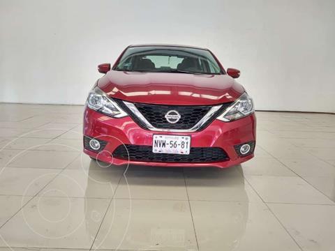 Nissan Sentra Advance usado (2017) color Rojo precio $215,000