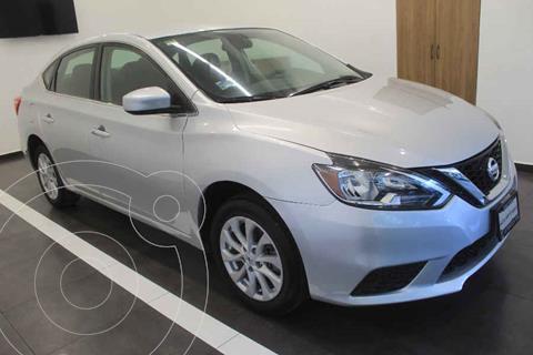 Nissan Sentra Sense Aut usado (2018) color Plata precio $239,000
