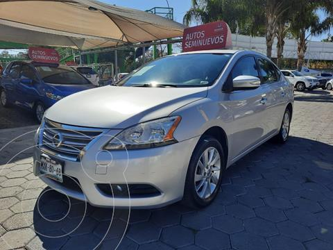 Nissan Sentra Advance Aut usado (2016) color Plata precio $170,000