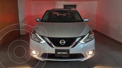 Nissan Sentra Exclusive Aut  usado (2018) color Plata precio $265,000