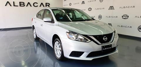 Nissan Sentra Sense usado (2018) color Plata Dorado precio $229,900