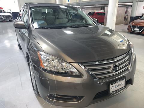Nissan Sentra Sense usado (2016) color Dorado precio $177,000
