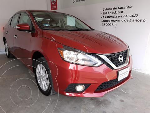 Nissan Sentra Advance usado (2018) color Rojo precio $240,000