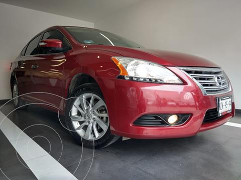 Nissan Sentra Advance usado (2016) color Rojo precio $195,800