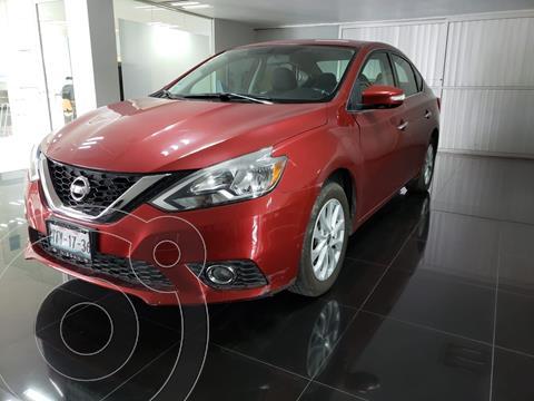 Nissan Sentra Advance usado (2017) color Rojo precio $198,000