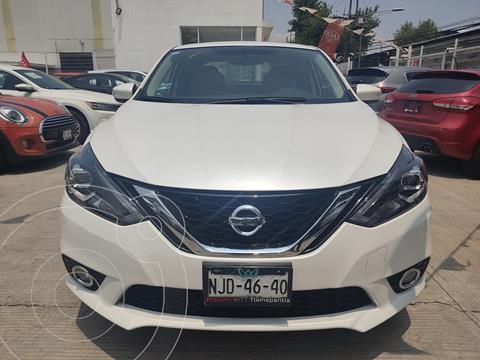 Nissan Sentra Exclusive Aut usado (2019) color Blanco precio $305,000