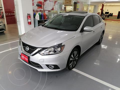 Nissan Sentra Exclusive Aut  usado (2018) color Plata precio $249,000