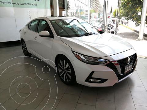 Nissan Sentra Exclusive Aut usado (2021) color Blanco precio $439,900