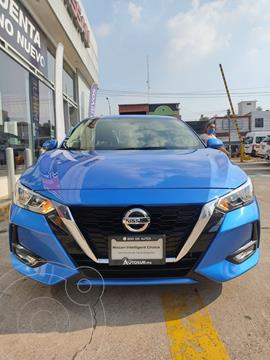 Nissan Sentra Advance usado (2020) color Azul Claro precio $330,000