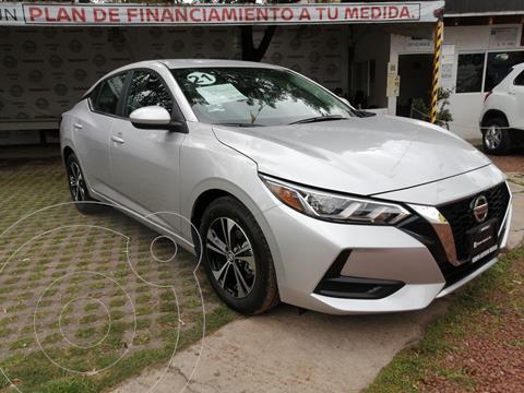 Nissan Sentra Sense usado (2021) color Plata precio $335,000