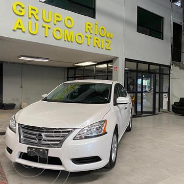 Nissan Sentra Sense Aut usado (2015) color Blanco precio $159,000