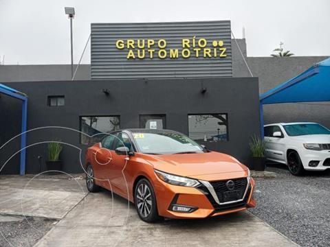 Nissan Sentra Exclusive Aut usado (2020) color Naranja precio $429,000