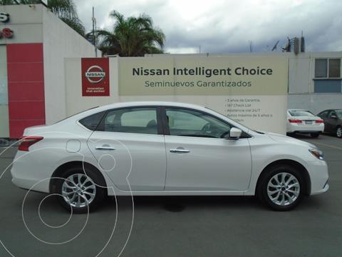 Nissan Sentra Sense usado (2019) color Blanco precio $229,000