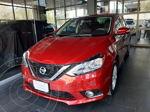 Nissan Sentra Advance Aut usado (2017) color Rojo precio $199,000