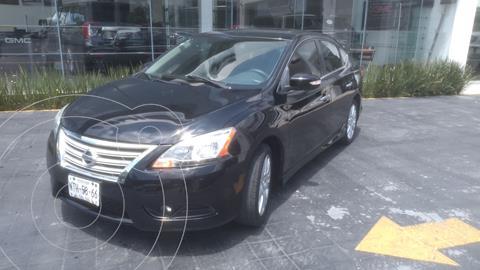 Nissan Sentra Exclusive NAVI Aut usado (2013) color Negro precio $148,000